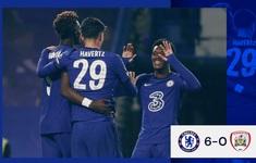 Cúp Liên đoàn Anh: Havertz lập hat-trick, Chelsea thắng đậm Barnsley