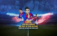 Barcelona gửi lời chia tay, Luis Suarez gia nhập Atletico Madrid