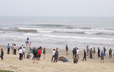 Phát hiện thi thể người nước ngoài trôi dạt vào bờ biển