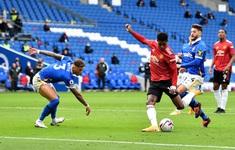TRỰC TIẾP BÓNG ĐÁ Brighton 1-2 Man Utd (H2): 5 lần khung gỗ cứu thua cho đội khách!