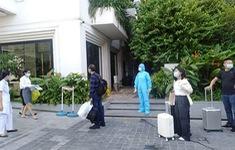 Bắc Giang đón 122 chuyên gia, lao động kỹ thuật vào cách ly tập trung
