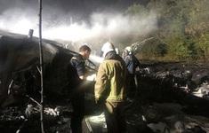 Rơi máy bay quân sự ở Ukraine, ít nhất 22 học viên không quân thiệt mạng