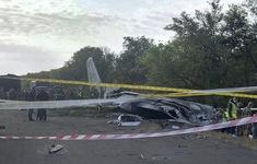 Vụ rơi máy bay quân sự ở Ukraine: Nhiều khả năng cánh máy bay đã chạm đất