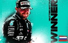 Valtteri Bottas giành chiến thắng tại GP Nga