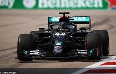 Lewis Hamilton giành vị trí xuất phát đầu tiên GP Nga