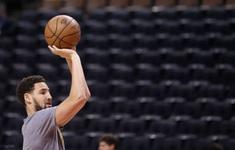 Klay Thompson trở lại tập luyện cùng Golden State Warriors