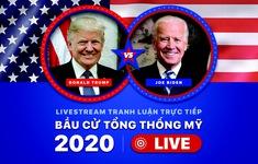 TRỰC TIẾP: Tranh luận Donald Trump và Joe Biden trong cuộc đua bầu cử Tổng thống Mỹ 2020 (7h45 ngày 30/9)