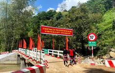 Hai cầu đập tràn ở Hà Giang trong dự án Xây cầu đến lớp hoàn thành