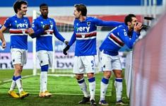 Sampdoria 2-1 Udinese: Sampdoria tìm lại niềm vui chiến thắng (Vòng 18 Serie A 2020/21)