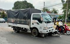 1 học sinh tử vong trong vụ tài xế xe tải ngủ gật tông nhiều người