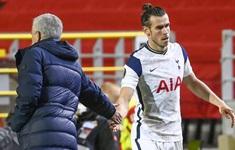 HLV Mourinho không hài lòng với Bale