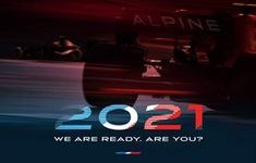 Đội đua Alpine công bố thiết kế sơ bộ xe mùa 2021