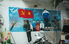 Thủ đô trang hoàng cờ hoa mừng Đại hội lần thứ XIII của Đảng