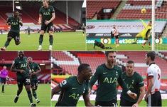 Tottenham giành chiến thắng thuyết phục trên sân của Sheffield