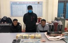 Sơn La bắt 2 đối tượng, thu giữ gần 4kg ma túy đá