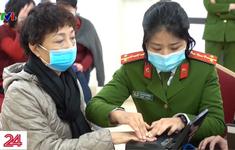 Hà Nội đẩy nhanh tiến độ cấp căn cước công dân gắn chip