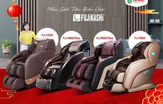 Cảnh báo: Xuất hiện hàng nhái của ghế massage Fujikashi trên thị trường