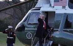 Rời Nhà Trắng, ông Trump chúc chính quyền sắp tới gặp nhiều may mắn
