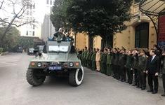 Công an Hà Nội xuất quân bảo vệ Đại hội Đảng toàn quốc lần thứ XIII