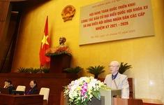 Tổng Bí thư, Chủ tịch nước chỉ đạo triển khai công tác bầu cử ĐBQH khóa XV và HĐND các cấp