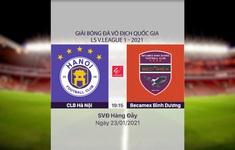 VIDEO Highlights: CLB Hà Nội 1–2 Becamex Bình Dương (Vòng 2 LS V.League 1-2021)