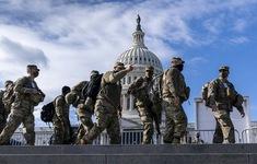 Khoảng 5.000 lính Vệ binh Quốc gia bám trụ Washington D.C đến giữa tháng 3