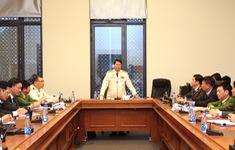 Kiểm tra công tác bảo đảm an ninh trật tự cho Đại hội XIII của Đảng