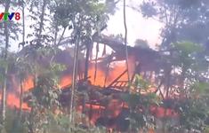 Quảng Trị: Kịp thời khống chế vụ hỏa hoạn ở xã Tân Long
