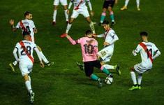 Messi tỏa sáng, Barcelona ngược dòng vào tứ kết Cúp nhà Vua Tây Ban Nha