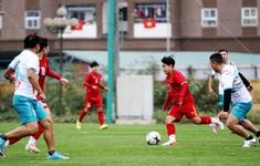 """Giao hữu: ĐT nữ Việt Nam trút """"cơn mưa bàn thắng"""" vào lưới cựu cầu thủ Hà Nội"""