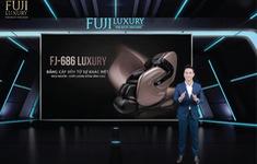 Fuji Luxury trình làng siêu phẩm ghế massage FJ 686 Lux - Xu hướng mới cho ngành công nghệ chăm sóc sức khoẻ 2022