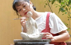Độc đáo hội trại điêu khắc trực tuyến lần đầu tiên tại Việt Nam