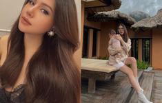 Phanh Lee vẫn cực sang chảnh và xinh đẹp dù bầu bí hay sau khi sinh