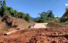Sạt lở nghiêm trọng tại Thừa Thiên - Huế