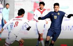 Vòng loại U23 châu Á 2022 | U23 Thái Lan chia điểm với U23 Mông Cổ