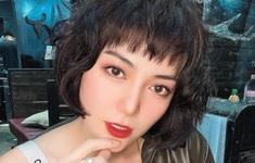 Thanh Hương lạ lẫm với tóc ngắn