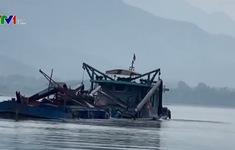 Hà Nội triệt phá ổ nhóm cát tặc trên sông Đà