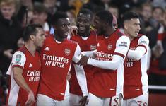 Arsenal vào tứ kết Cup Liên đoàn