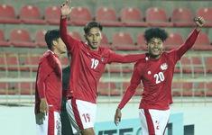 Vòng loại U23 châu Á 2022 | HLV U23 Indonesia nói gì sau trận thua sát nút U23 Australia?