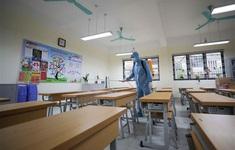 Học sinh khối 12 của 8 huyện, thành phố ở Hải Dương đi học trở lại