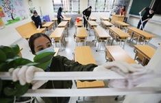 """Trường học ở Hà Nội chuẩn bị đón học sinh trở lại trong trạng thái """"bình thường mới"""""""