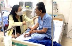 Diễn viên Thương Tín được ủng hộ thêm gần 150 triệu đồng