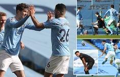 Man City 2-1 West Ham: John Stones sắm vai người hùng