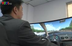 Lùi thời gian học và thi đào tạo lái xe bằng phần mềm mô phỏng