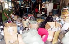 Thu giữ hàng tấn hàng hóa xuất xứ nước ngoài không hóa đơn, chứng từ
