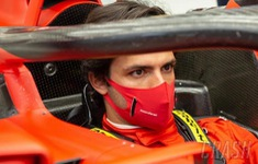Carlos Sainz ấn tượng với xe của Ferrari