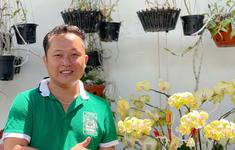 Trần Tấn Hiền: Dành trọn tình yêu với Vườn lan Xanh đột biến