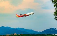 Vietjet khai thác chuyến bay đầu tiên đến sân bay Vân Đồn