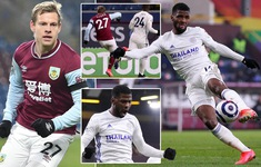 Burnley 1-1 Leicester City: Chia điểm kịch tính