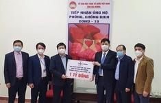 Hơn 71 tỷ đồng ủng hộ Hải Dương chống dịch COVID-19